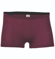 Wool / Silk Women's shorts Color: Orchid