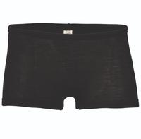 Wool / Silk Women's shorts Color: Black
