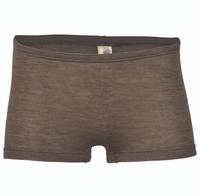 Wool / Silk Women's shorts Color: Walnut