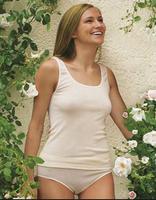 Organic Cotton Women's Sleeveless Shirt | Engel 864010