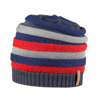Kids Organic Wool Cotton Silk Hat Color:  301 dark ink