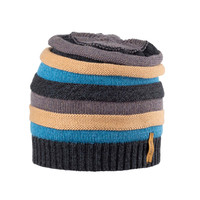 Kids Organic Wool Cotton Silk Hat Color: 97-2 anthrazit