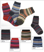 Organic Wool Cotton Kids' Socks | Grodo 14073