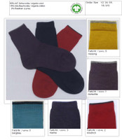 Organic Wool Cotton Kids' Socks