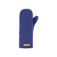 Babies Kids Organic Wool Mittens Color:  304 blue print