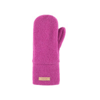 Babies Kids Organic Wool Mittens Color:  24 magenta