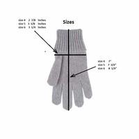 Kids Organic Wool Cotton Silk Gloves