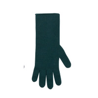 Women Organic Wool Cashmere Gloves Color: 481 green