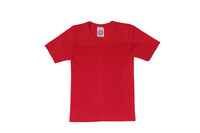 Organic Wool/ Silk Childrens Short Sleeve Shirt Color:  Red