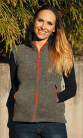 Wool Fleece Women Vest | Organic Wool