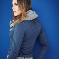Women's Organic Cotton Long Sleeved Shirt