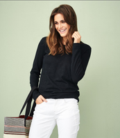 Women's Organic Cotton Long Sleeved Shirt