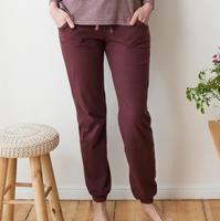 Women's Relax Trousers Color: 534 merlot