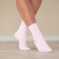 Organic Cotton Women Socks Color: 772 rosé/white