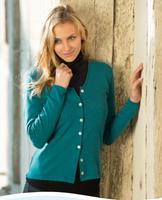 Organic Wool Women's Cardigan