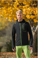 Organic Wool/ Silk Men's Hooded Jacket