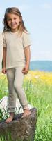 Engel Organic Merino Wool Children's Short Sleeved Shirt