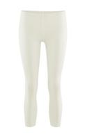 Women's  Organic Cotton 7/8 Leggings Color: 01 Natural