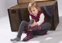 Organic Wool Children Legings