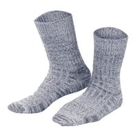 Organic Wool Cotton Socks   Living Crafts 382