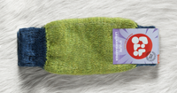 Organic Wool Leg and Arm Warmer Color: 180 summergreen blue