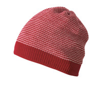 Organic Merino Wool Beanie Color: 933 Bordeaux Rose