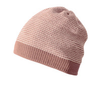 Organic Merino Wool Beanie Color: 50 Rose Natural