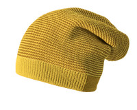 Merino Wool Long Beanie Color: 978 Curry Gold