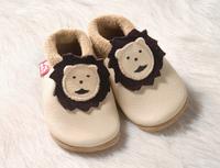 "Soft-Soled Indoor Slippers  | Natural Leather  ""Leonardo"""