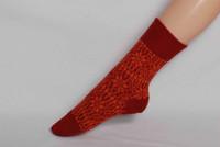 Organic Merino Wool Socks Color: 57 Lobster/Orange