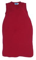 Organic Merino Wool Silk Sleep Sack Color: Burgund red