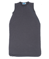 Organic Merino Wool Silk Sleep Sack Color: Slate Grey