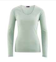 Organic cotton Sleep Shirt Color:  rosemary/mint