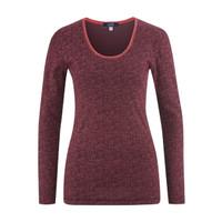 Organic cotton Sleep Shirt Color:  barolo dots