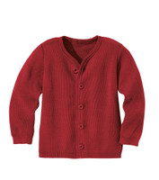 Disana Organic Wool Lightweight Jacket Color: Bordeaux