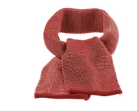 Organic Wool Scarf Color: 933 Bordeaux Rose
