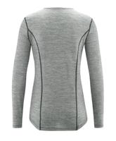 "women long sleeved athletic shirt   ""Daniela"" organic wool"