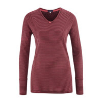 Organic Cotton Sleep Shirt Color: 730 barolo stripe