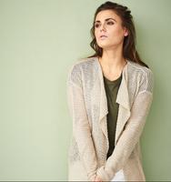 Organic Linen Cardigan