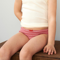 Organic Cotton Girl's Briefs |  pack of 3