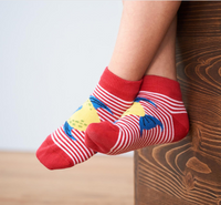 "Organic Cotton Sneaker Socks | ""AGAVE"" Living Crafts"