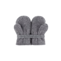 Baby Organic Wool Mittens Color: 96 slate grey