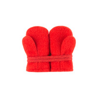 Baby Organic Wool Mittens Color: 15 rot