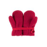 Baby Organic Wool Mittens Color: 181 biking red