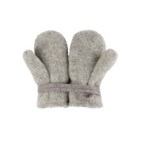 Baby Organic Wool Mittens Color: 932 moon grey