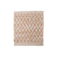 Organic Marino Wool, Cotton, Silk Neck Warmer Color: 80 beige