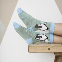 Kids Organic Cotton Sneaker Socks