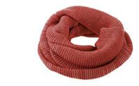 Organic Wool Loop Scarf Color: 933 Bordeaux Rose