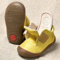 Natural Leather Flexible Toddler Shoes