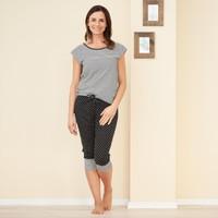 Organic Cotton 3/4 sleep trousers